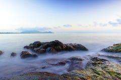 Khanom beach. In Nakhon Si Thammarat, South Thailand Royalty Free Stock Photos