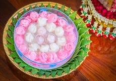 Khanom Chun, Thais dessert Royalty-vrije Stock Foto