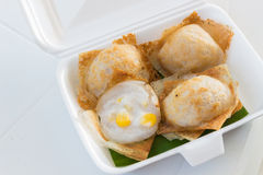 Khanom crok of Thaise kokosnotenpannekoek Royalty-vrije Stock Afbeelding