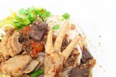 Khanom Jin Nam Ngiao Royalty Free Stock Photos