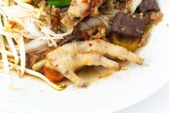 Khanom Jin Nam Ngiao Stock Images