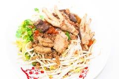 Khanom Jin Nam Ngiao Stock Image