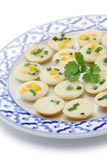 Khanom krok, thai sweet Royalty Free Stock Photography