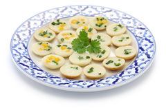 Khanom krok, thai sweet Stock Photography