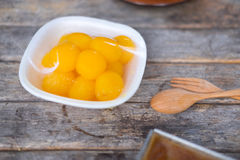 Khanom Thai is traditional Thai sweets both flavor and taste Royalty Free Stock Photos