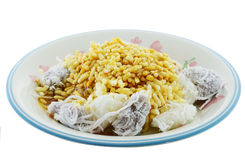 Khanom Tom  Thai dessert. Khanom Tom Thai dessert on plate Stock Photography
