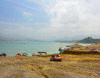 Khanpur Jeziorny kurort, Pakistan Obrazy Royalty Free