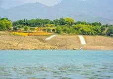 Khanpur sjösemesterort, Pakistan Arkivbilder