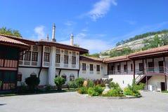 Khans slott i Bakhchisarai crimea arkivbild