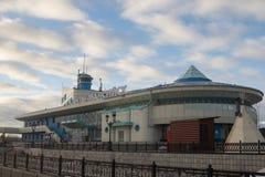 Khanty-Mansiysk内河港  图库摄影