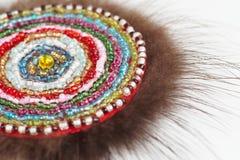The Khanty talisman, close-up Royalty Free Stock Photo
