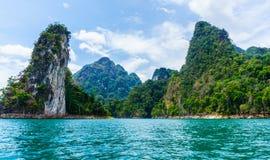 khao国家公园sok泰国 免版税图库摄影