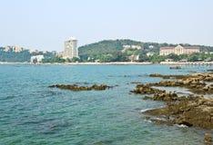Khao山姆Muk山景 免版税库存照片