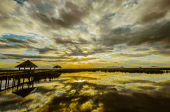 Khao山姆Roi Yot国家公园在泰国 库存照片
