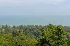 Khao山姆Roi Yot国家公园在隗Buri区, Prachuap Kh 库存图片