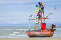 Khao陶海滩,华Hin泰国 免版税库存照片