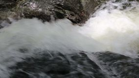 Khao Cha Mao Waterfall stock video footage
