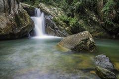 Khao chamao Wasserfall Stockfotografie