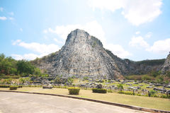 Khao Chee Jan, Carved Buddha Image On The Cliff Stock Images