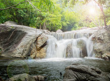 Khao Chon Waterfall in  Thailand Stock Photos