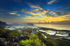 Khao-Dang Mountain Royalty Free Stock Photo