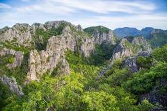 Khao Dang View Point Lizenzfreie Stockfotos