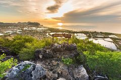 Khao Dang View Point Royalty Free Stock Photography