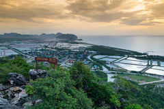 Khao Dang Viewpoint On The Mountain Royalty Free Stock Images