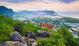Khao Dang Viewpoint, Thailand Stock Photos