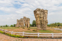 Khao hin Mor (stonehenge Таиланда ), то Стоковое Изображение RF