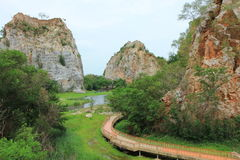 Khao Hin Snake Rock Park Stock Images