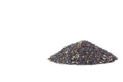 Khao Hom Nil or Black Fragrant Rice mix with Fragrant Rice Stock Photography