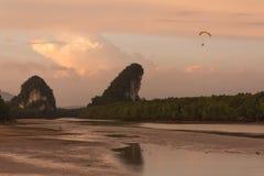 Khao Kha attrapent Nam Photos stock