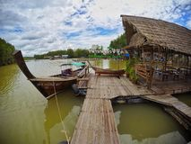 Khao Khanap Nam, Krabi Tajlandia Zdjęcie Royalty Free