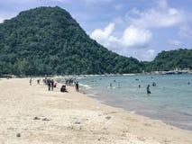 Khao Kho Beach in Khanom royalty free stock photos