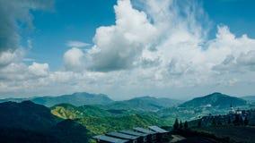 Khao Kho bergsikt Fotografering för Bildbyråer