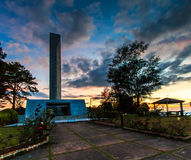Khao Kho memorial in Phetchabun province of Thailand Royalty Free Stock Photography