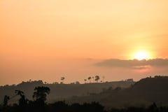 Khao Kho no crepúsculo Imagem de Stock Royalty Free