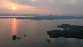 Khao Laem泰国国立公园 免版税库存照片