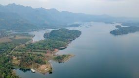 Khao Laem Thailand National Park stock photo