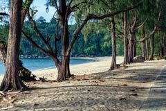 Khao Lak beach in Thailand Stock Photography