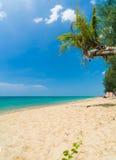 Khao lak beach in Thailand Stock Image