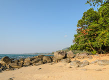 Khao Lak beach in Thailand Stock Photography