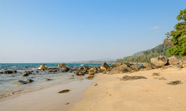 Khao Lak beach in Thailand Stock Images