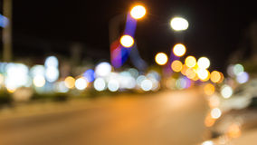 Khao Lak ruch drogowy Bokeh Zdjęcie Royalty Free
