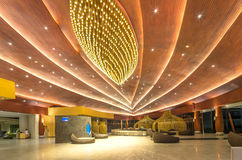 KHAO LAK, THAILAND - 1. NOVEMBER: Lobby des SENTIDO Graceland Khao Stockfotografie