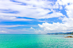 Khao Lak and turquoise color of sea,Thailand Royalty Free Stock Photography