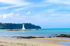 Khao Lak zatoka, Ssanie w żołądku, Tajlandia Fotografia Stock