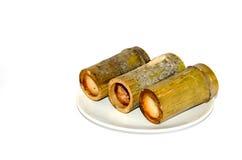 Khao Larm (Bambusowy Rice) Zdjęcie Stock