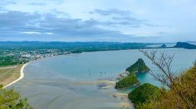 Khao Lom Muak στην επαρχία Ταϊλάνδη Prachuap Khiri Khan Στοκ φωτογραφίες με δικαίωμα ελεύθερης χρήσης